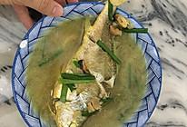 香葱焖鱼(鱼汁能捞饭)的做法