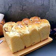 燕麦粉豆沙吐司
