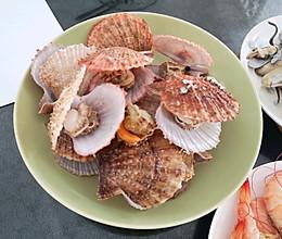 蒸海鲜,原汁原味。的做法