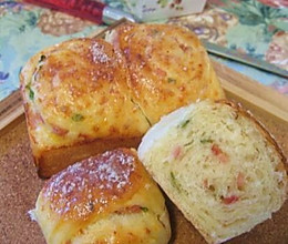 火腿芝士面包卷的做法
