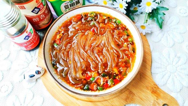 #一勺葱伴侣,成就招牌美味#好吃到哭的酸辣粉的做法