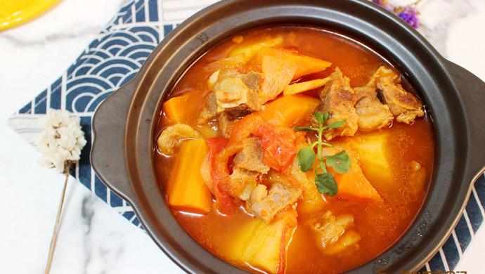 暖胃番茄牛腩汤