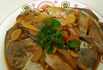 酱烧银鲳鱼