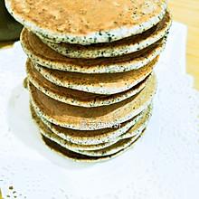 黑芝麻松饼