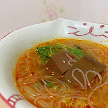 #憋在家里吃什么#鸭血粉丝汤