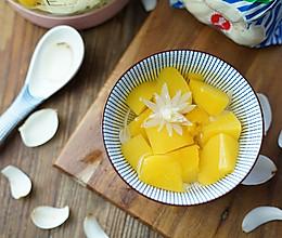 黄桃百合糖水的做法