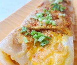 风靡全国的东北小吃 | 烤冷面 #助力高考营养餐#的做法