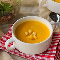 胡萝卜玉米浓汤