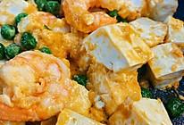 米饭杀手 虾仁蟹黄豆腐的做法