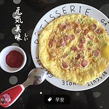 快手宝宝早餐——鸡蛋饼