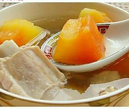 产后系列之木瓜炖排骨的做法