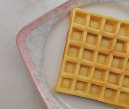 #爱乐甜夏日轻脂甜蜜#零卡糖华夫饼的做法