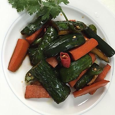 腌制黄瓜萝卜