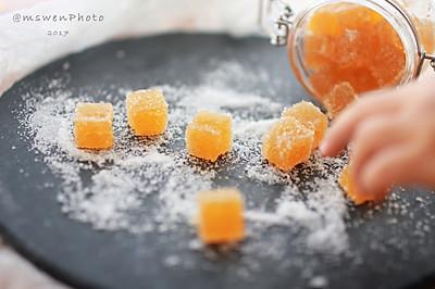 儿时的记忆,天然橙汁软糖