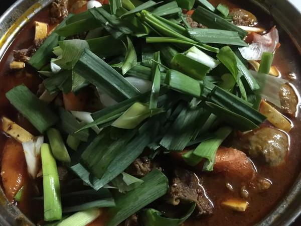 牛肉火锅的做法