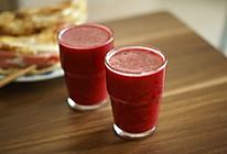 紫薯甜菜根橙子梨汁的做法