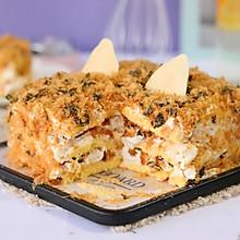 海苔肉松咸奶油蛋糕