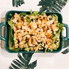 轻食 三文鱼藜麦沙拉