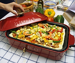 至尊海陆披萨-BRUNO多功能料理锅的做法