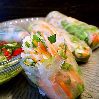 食指大动!胃口大开  越南鲜虾春卷