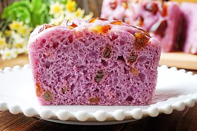 紫薯蜜枣发糕