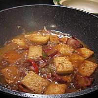 #下饭红烧菜#大马站虾酱红烧豆腐的做法图解7