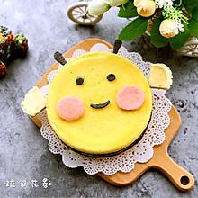 可爱的小蜜蜂蛋糕#享