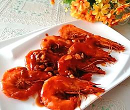 #夏日消暑,非它莫属#番茄蒜蓉大虾的做法