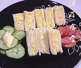 深夜食堂之鸡蛋三明治的做法
