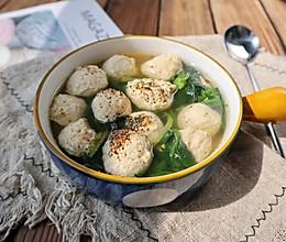 低脂山药鸡肉丸子❗️减重主食代餐❗️好吃不长胖的做法