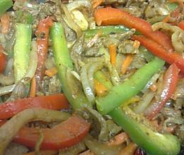 什锦蔬菜炒羊肉的做法