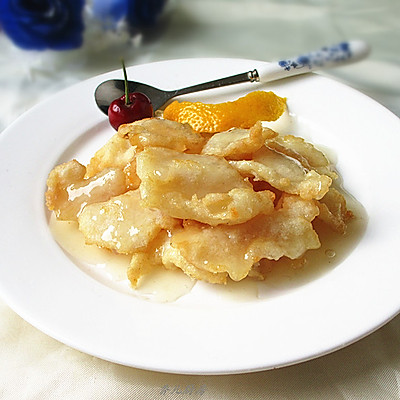 上海年夜饭必备--柠香鱼片的做法 步骤12