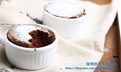 巧克力舒芙蕾的做法