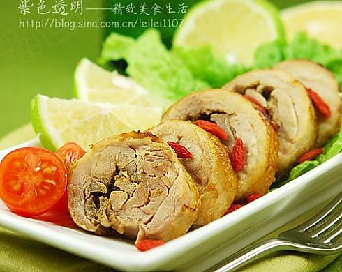 越南风味香茅烤鸡卷