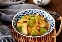 #憋在家里吃什么#尖椒炒豆腐皮的做法