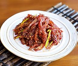 明太鱼做法有很多,辣炒的下酒最过瘾哦!的做法