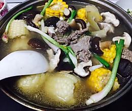 牛肉汤锅的做法