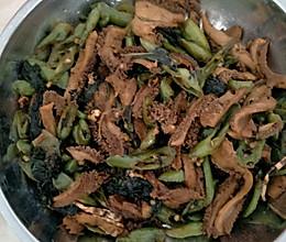 尖椒炒牛肚的做法