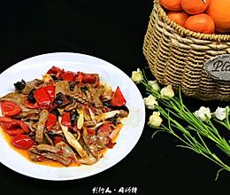 #餐桌上的春日限定#肝腰合炒-江湖急火的做法