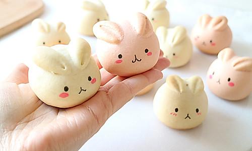 萌萌月兔烧果子,松软香甜,最佳春节手工点心的做法