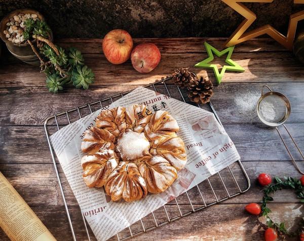 圣诞雪花面包的做法