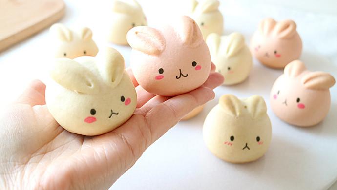 萌萌月兔烧果子,松软香甜,最佳春节手工点心
