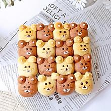#安佳食力召集,力挺新一年#小熊挤挤面包