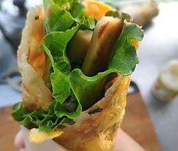 #橄享国民味 热烹更美味#手抓饼的做法