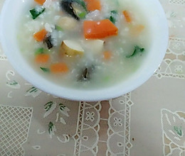 蔬菜什锦粥的做法