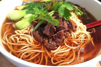 家常牛肉面-附牛肉汤头跟面条做法
