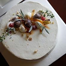 栗子摩卡慕斯蛋糕#美的fun烤箱·焙有fun儿#