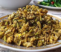 【香椿芽炒鹅蛋】春天里的菜的做法