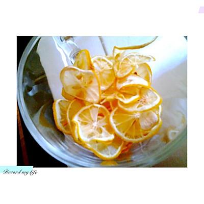 自制柠檬片柠檬干