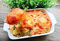 西红柿生菜焗饭的做法